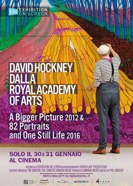 DAVID HOCKNEY DALLA ROYAL ACADEMY OF ARTS (DAVID HOCKNEY AT THE ROYAL ACADEMY OF ARTS)