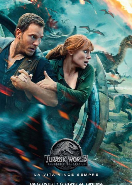 JURASSIC WORLD - IL REGNO DISTRUTTO - 3D (JURASSIC WORLD: FALLEN KINGDOM)