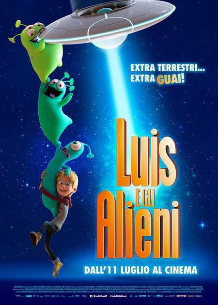LUIS E GLI ALIENI (LUIS & THE ALIENS)