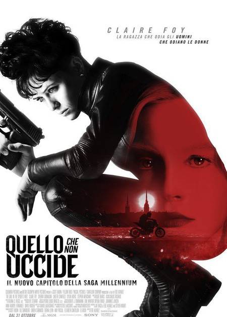 QUELLO CHE NON UCCIDE (THE GIRL IN THE SPIDER'S WEB)
