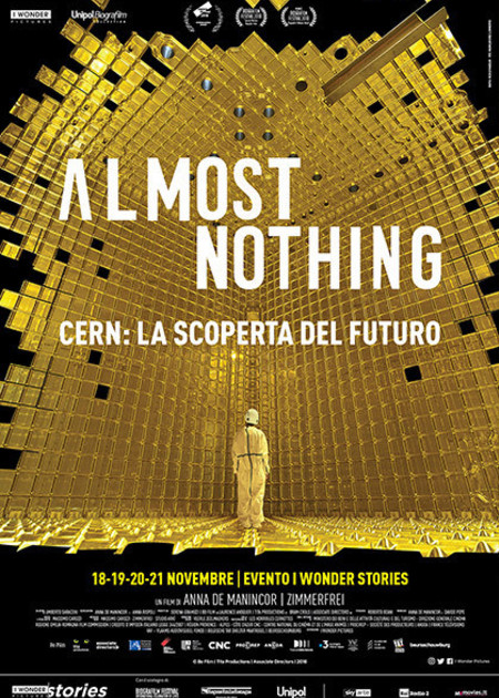 ALMOST NOTHING - CERN: LA SCOPERTA DEL FUTURO (ALMOST NOTHING - CERN: AN EXPERIMENTAL CITY)