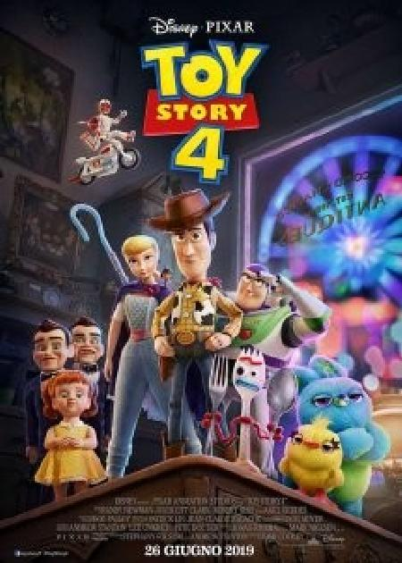 TOY STORY 4 (1H40')