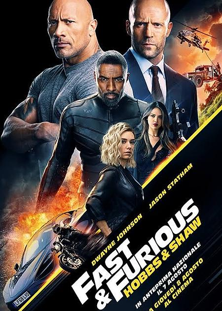 FAST AND FURIOUS - HOBBS AND SHAW (2H15')
