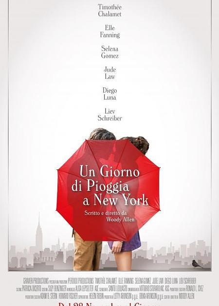 UN GIORNO DI PIOGGIA A NEW YORK (1H32')