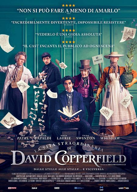 LA VITA STRAORDINARIA DI DAVID COPPERFIELD (1H56')